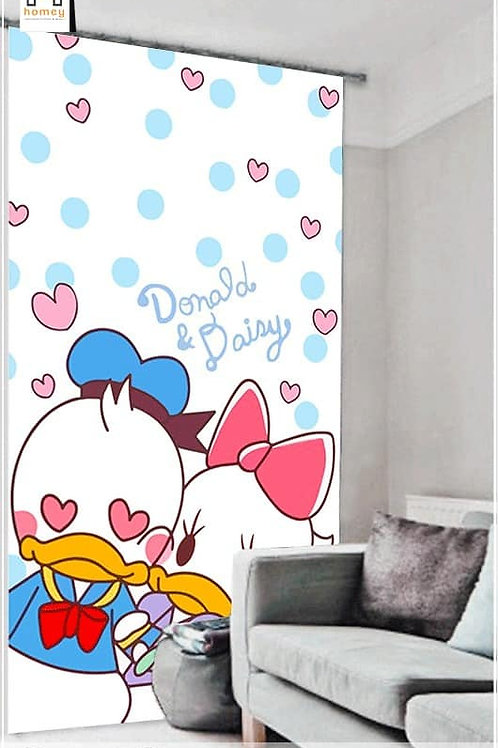 Duck Single 3D curtain 150cm*260cm