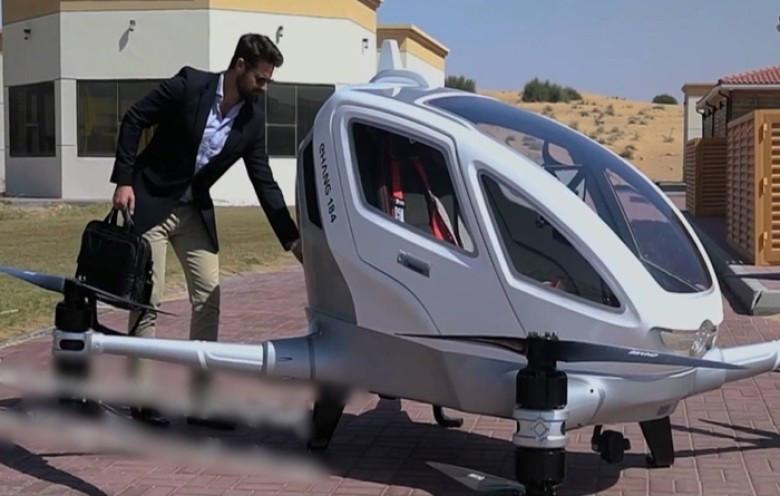 億航184將在杜拜投入服務。(互聯網圖片)