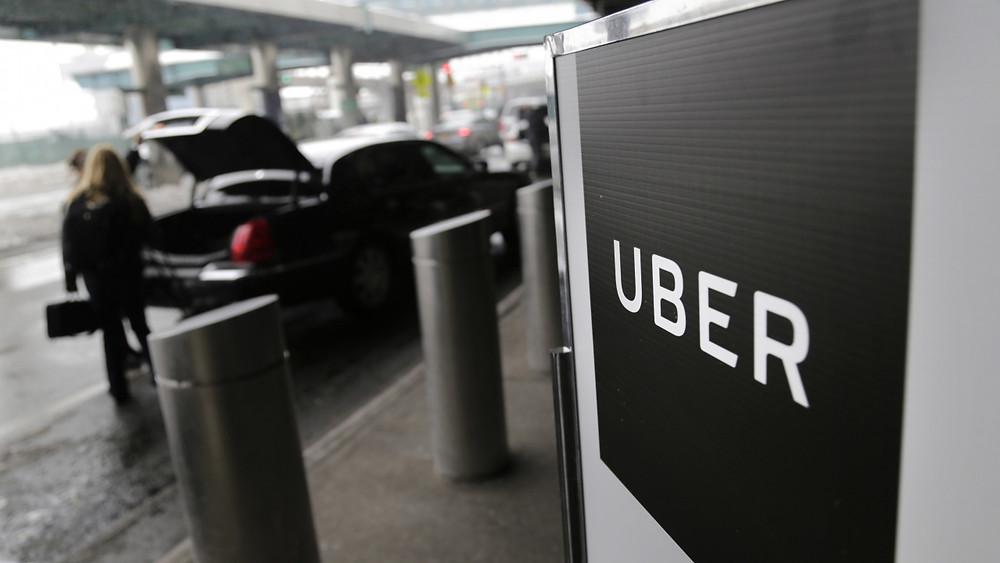 Uber宣布下個月撤出丹麥市場。(美聯社)
