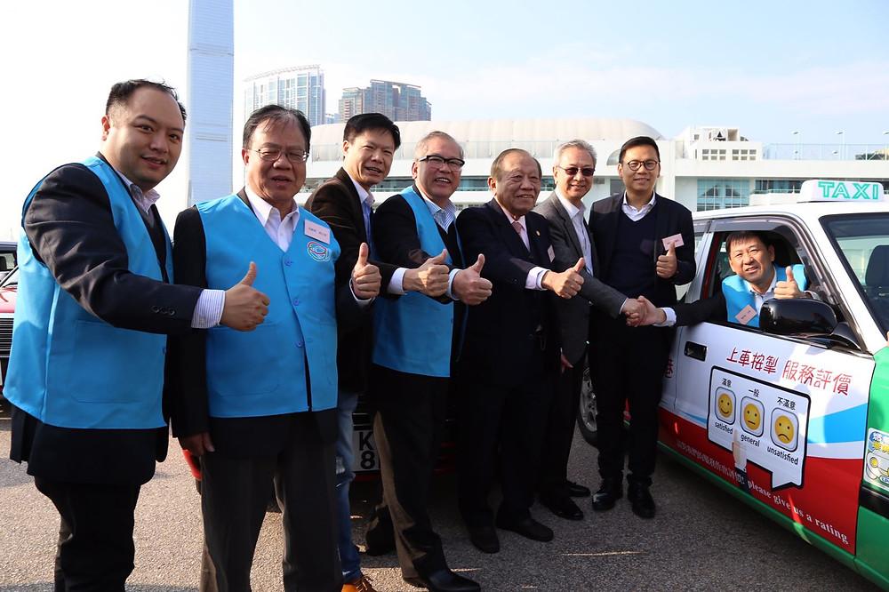 陳民強透露,新裝置研發費用約40萬,今次舉辦的士司機禮貌運動,是回應外界對的士司機的意見及提升服務水平。