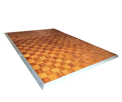 Parquetry Dance Floor wooden Block Per Sqm