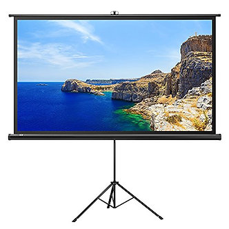 100 / 120 Inch Projector Screen with Tripod Stand
