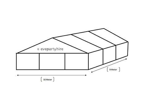 10m x 9m  Hocker Structured Marquee Tent