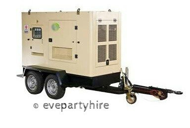 Outdoor Generator Hire 25 KVA for Events and Functions