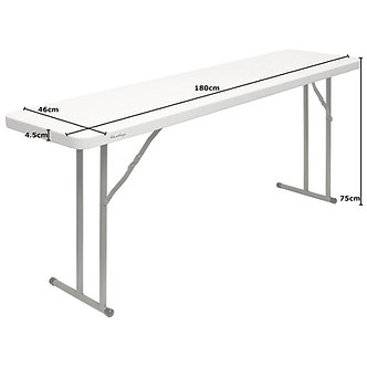 6ft Conference Trestle Table small width 45cm *