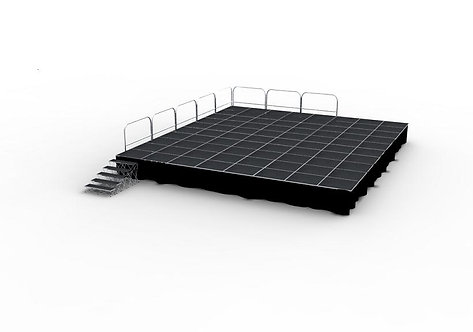 12m x 7.2m Stage Deck with Stair