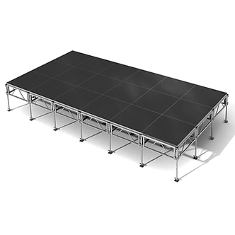 8.4m x 6m  Stage Deck Block with Stair