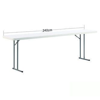 8ft Conference Trestle Table small width 45cm