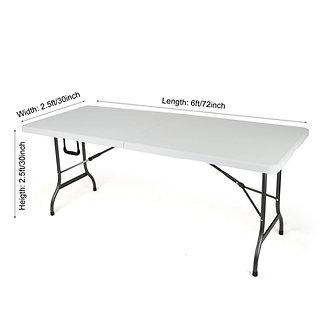 6ft Trestle Table Regular size