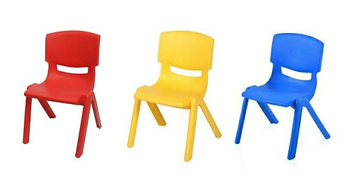 Kids Chair  ( Blue / Red / Yellow )