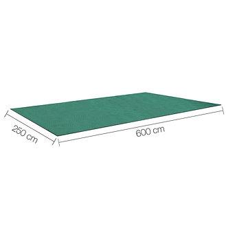 Marquee Flooring - Grey Rubber Mat Carpet  - Various Size - Per SQM