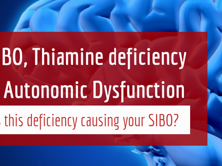 Thiamine Deficiency - A Potential Cause of SIBO and other Gut Dysfunction?