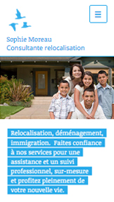 Associations website templates – Services de Relocalisation