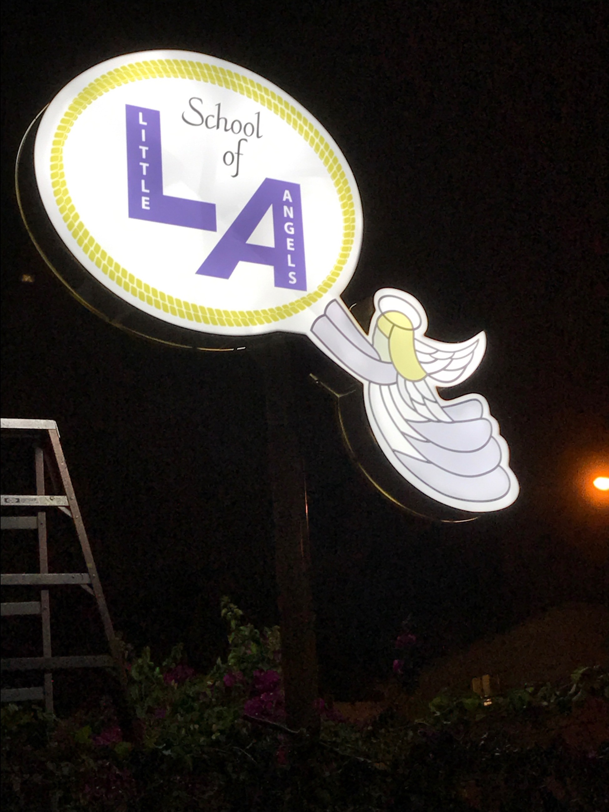 Angel Light sign