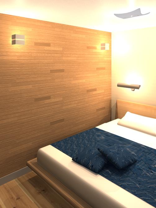 コンセプトハウス寝室