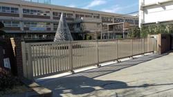 第二中学校正門1