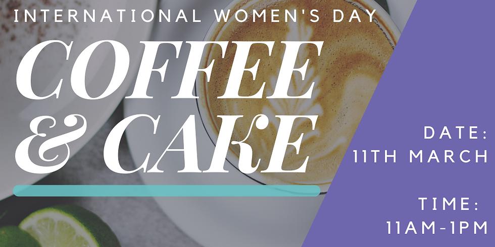 Coffee & Cake - International Women's Day (WISE X BoW X Womendeavour)