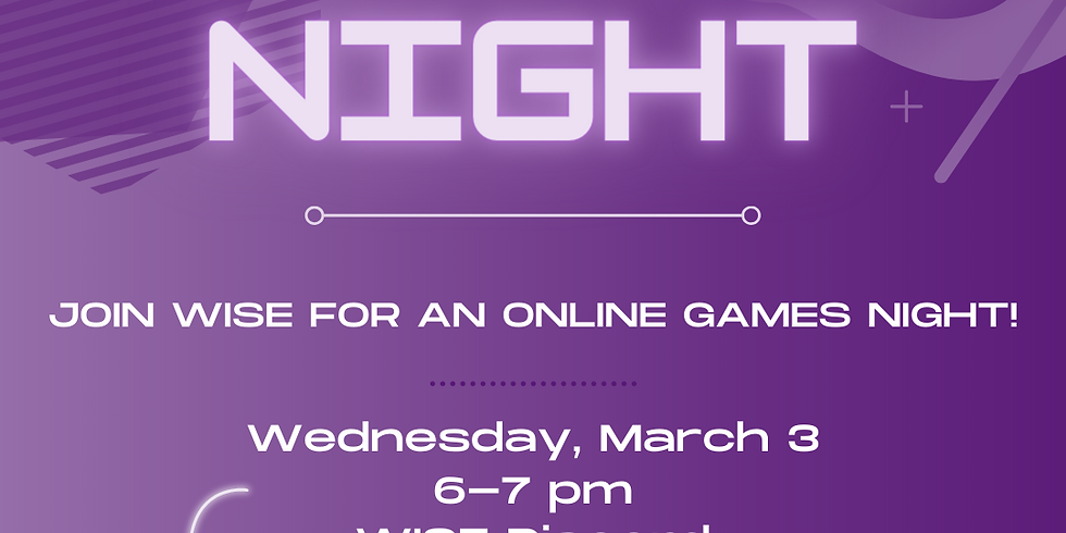 Online Games Night