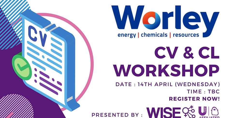 Worley X WISE CV & CL Workshop