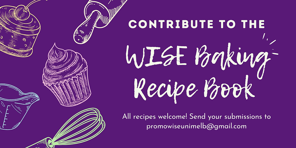 WISE Recipe Book Call Out!