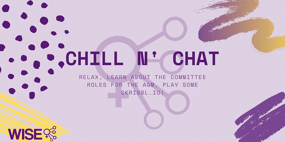 Chill 'n Chat with the Committee!