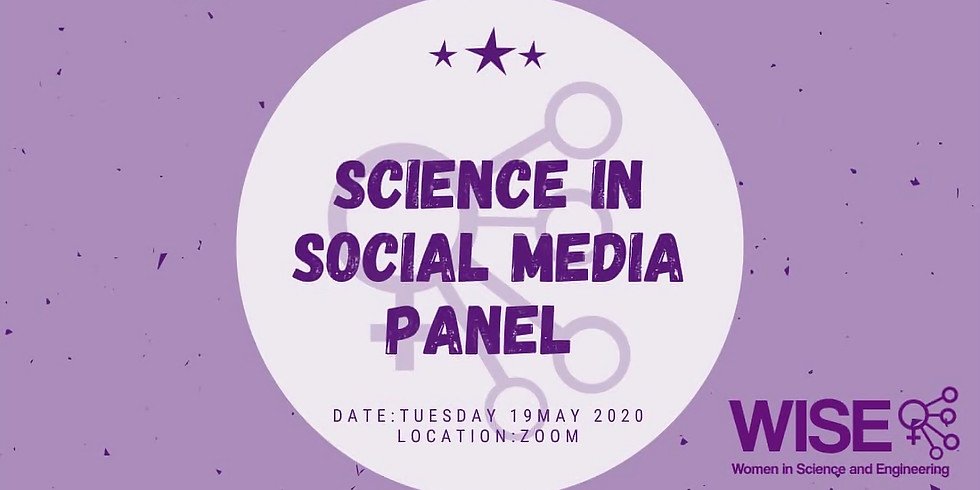 Science Communication on Social Media (Semester 1 Panel)
