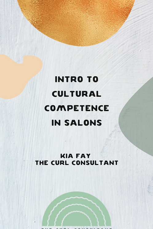 Intro To Cultural Competence In Salons Ebook