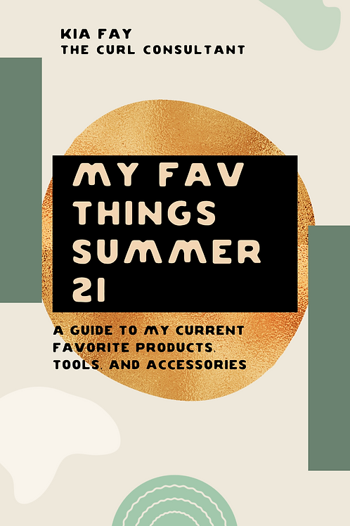 2021 Favorite Products & Tools breakdown