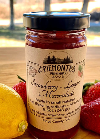 Strawberry & Lemon Marmalade 6oz