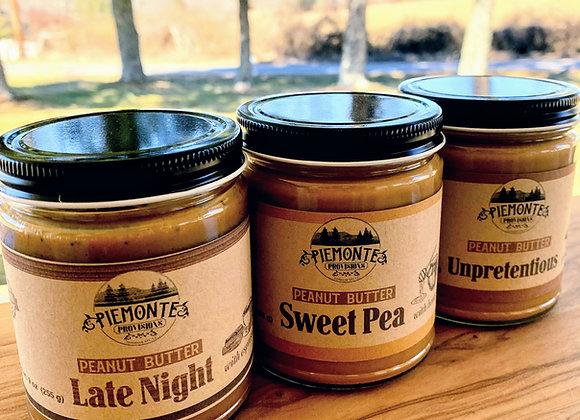 Variety 3 pack Stone - Ground Peanut Butter