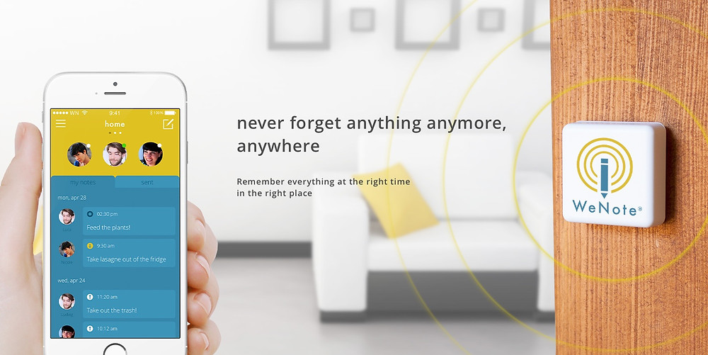 wenote and ibeacon