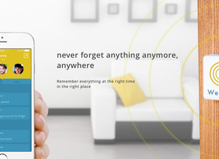 A new location-based reminder app WeNote is launched by Beeapp