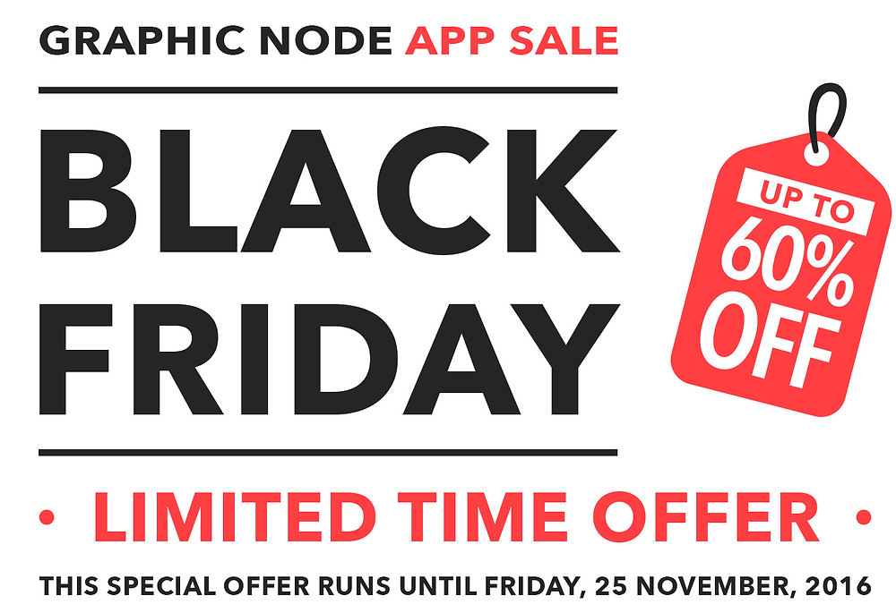 graphic node black friday sale