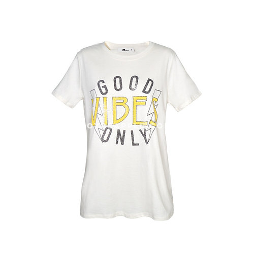 Tshirt good vibes only