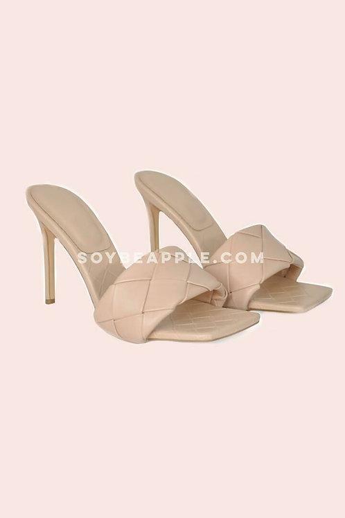 Zapatos punta cuadrada
