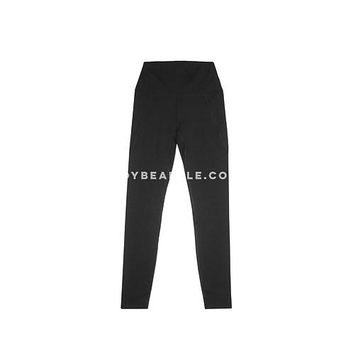 Leggins negros con detalle bolsas laterales