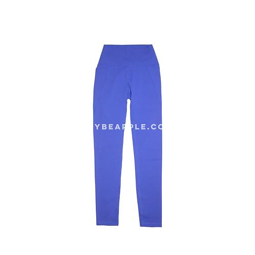 Leggins royal blue con detalle bolsas laterales
