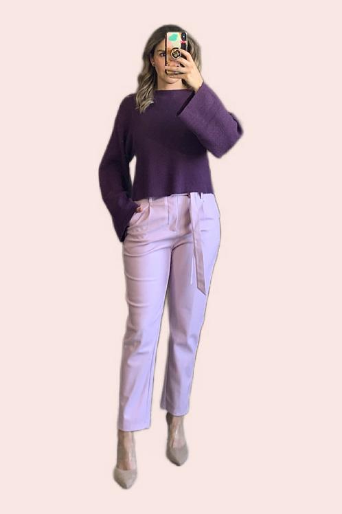 Sweater uva mangas campana