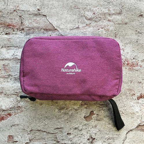 Косметичка для путешествий несессер Naturehike для ручной клади розовый шампунь в отпуск