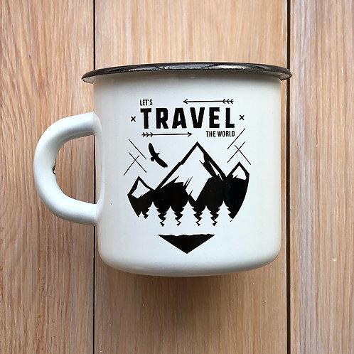 эмалированная кружка Travel