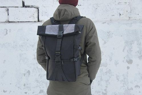 Рюкзак роллтоп N202 серый