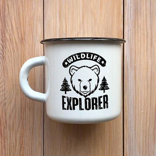 эмалированная кружка Wildlife explorer