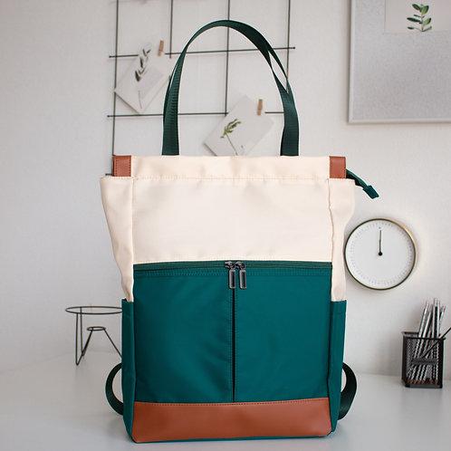 Рюкзак-сумка N102 зеленый
