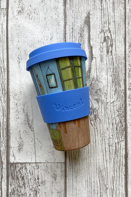 Ecoffee cup 400мл Спальня экостакан из бамбука