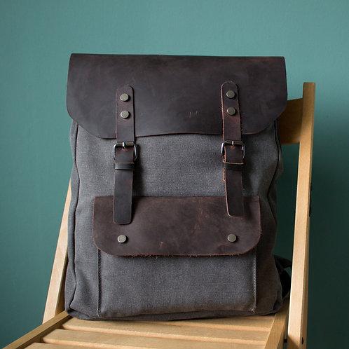 Рюкзак N6 серый