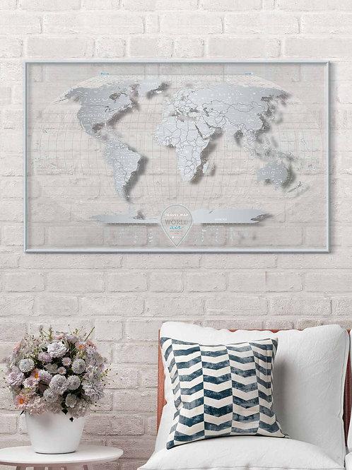 Скретч Карта Мира AIR World