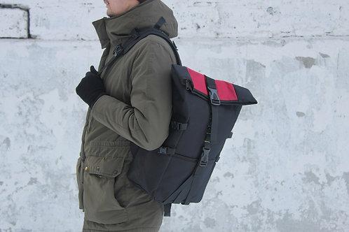 Рюкзак роллтоп N202 красный
