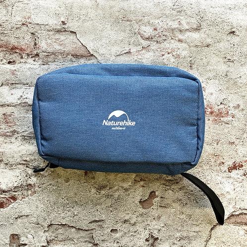 Косметичка для путешествий несессер Naturehike для ручной клади синий