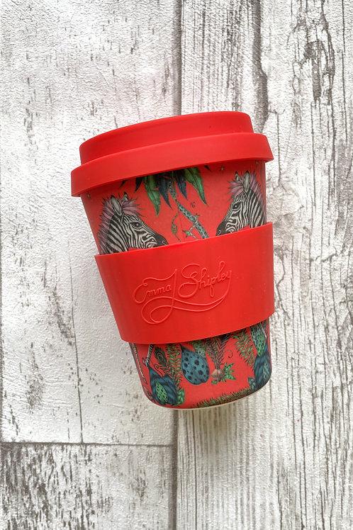 Ecoffee cup 350мл Потерянный мир экостакан из бамбука