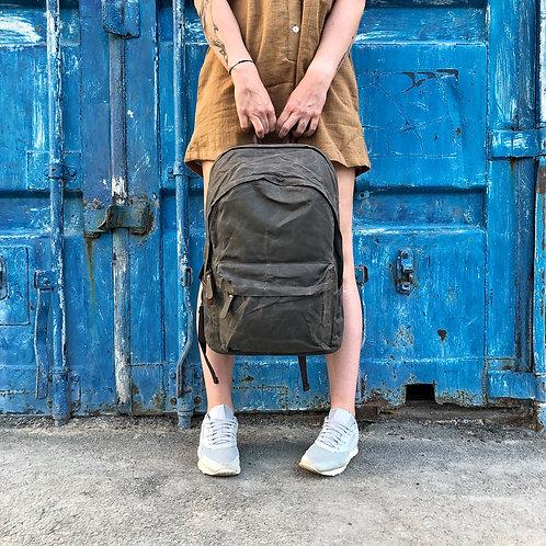 рюкзак крафтовый
